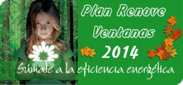 Plan Renove Ventanas 2014