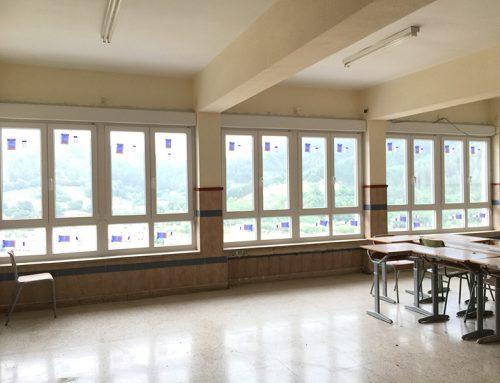 Colegio Legazpi – Ventanas PVC