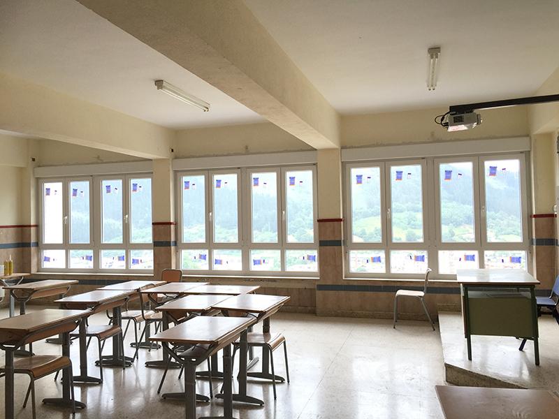 Colegio Legazpi - Ventanas PVC